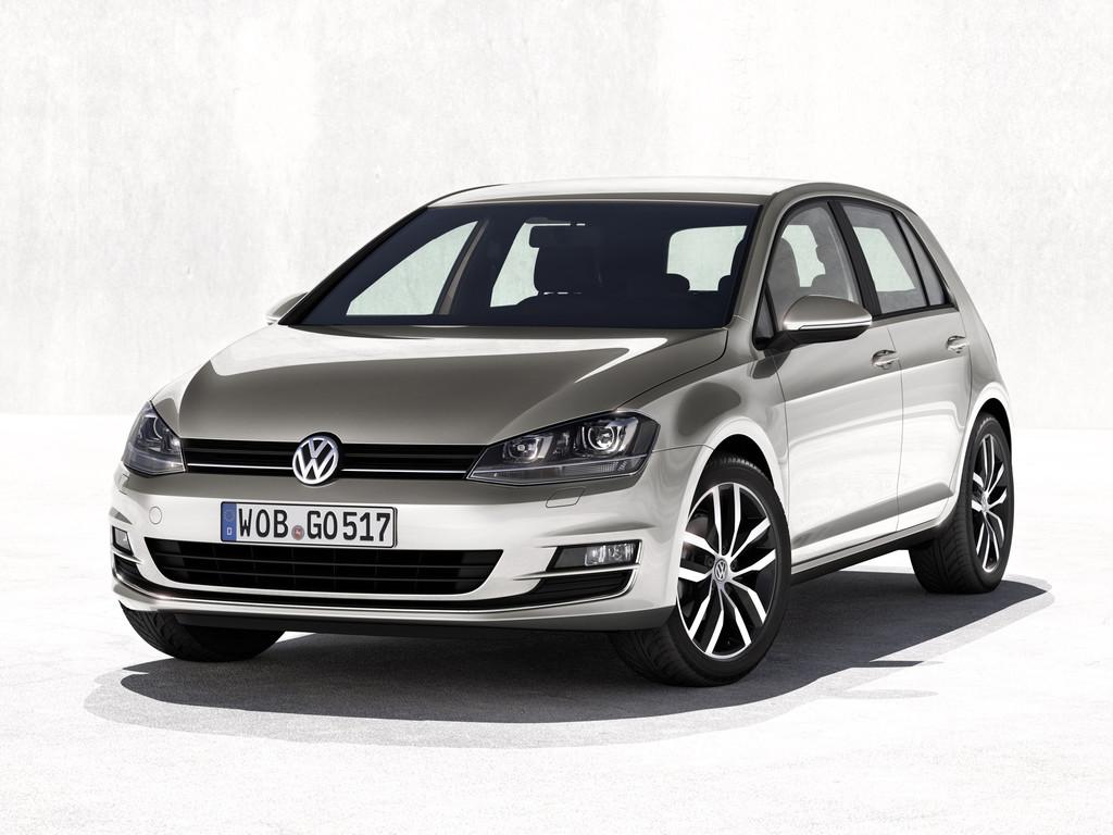 Nouvelle Volkswagen Golf 7 paris 2012