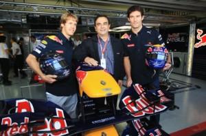 F1 - Groupe RENAULT Vettel et Webber titre champion constructeur