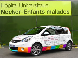 Nissan coloriable Necker