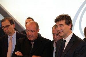courb schweitzer et montebourg mondial auto 2012