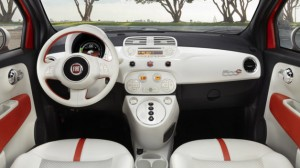 Fiat 500E salon de los angeles 2012