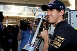 vettel champion F1 2012