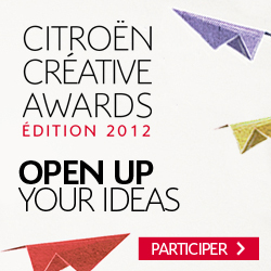 Citroen Creative Awards Open Up Your Ideas