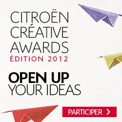 Citroen Creative Awards Open Up Your Ideas