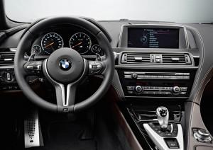 BMW M6 Gran Coupe interieur