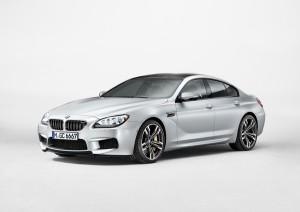 BMW M6 gran coupe exterieur