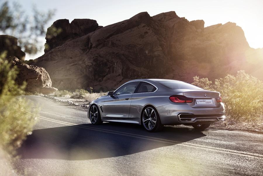 BMW Serie 4 coupe exterieur