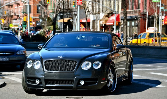 Bentley Continental GT 63 masonry