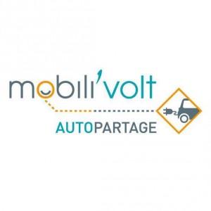 MobiliVolt Angouleme, logo du service d'autopartage électrique