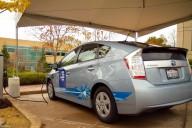 Toyota Prius plug-in hybrid charging