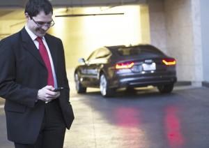Audi-Parking