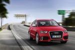 Audi RS Q3 sur route avant