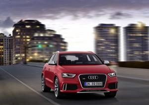 Audi RS Q3 sur toute vue avant