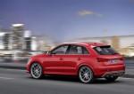 Audi RS Q3 sur route profil