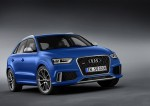 Audi RS Q3 bleu
