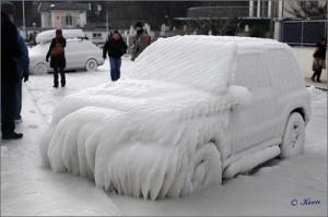image voiture neige