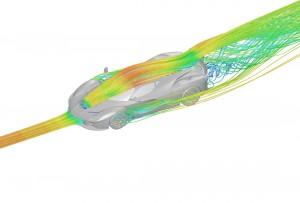 laferrari aerodynamique