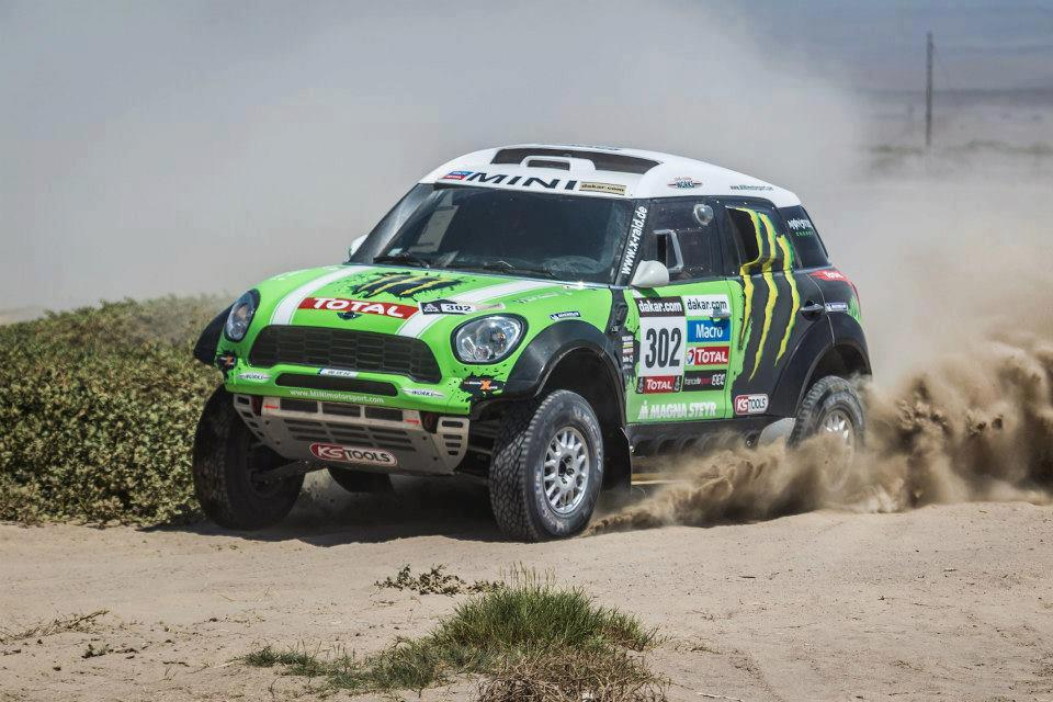 peterhansel en mini dakar 2013