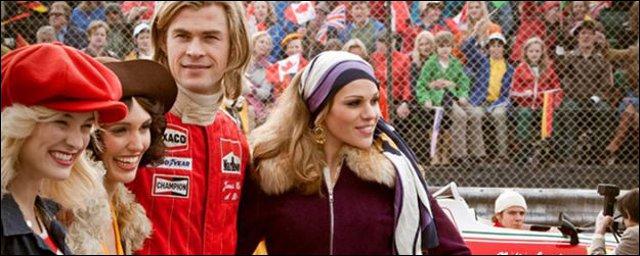 Film Rush avec Chris Hemsworth