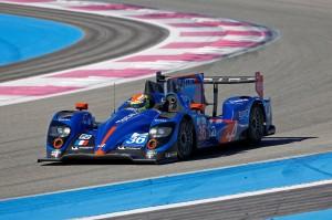 Alpine A450 à silverstone pour l' European Le Mans Series