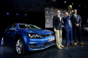 Golf 7 world car of the year 2013