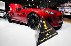 Jaguar F-Type world car design 2013
