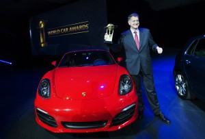 Porsche Boxster Cayman world performance car 2013