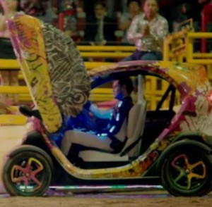 Renault Twizy clip David Guetta Play Hard