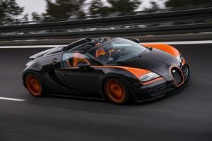 Bugatti Veyron Grand Sport WRC vitesse record 2013
