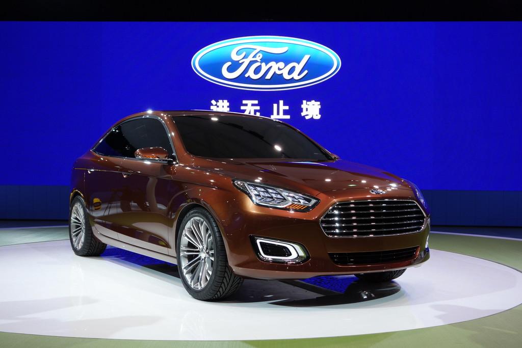 Ford Escort concept Salon de Shanghai 2013