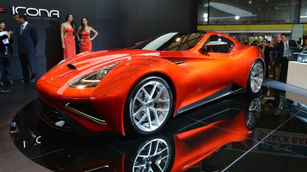 Icona Vulcano Concept 2013 au salon de Shanghai