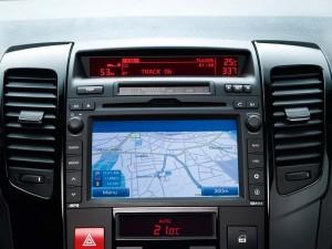 navigation intégrée kia