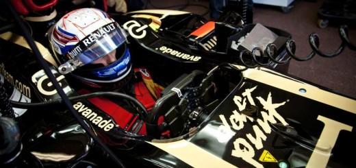 Les Daft Punk s'affichent sur les monoplaces Lotus F1 Team