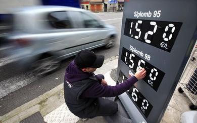 prix essence pompe france