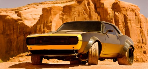 "Chevrolet Camaro SS 1967 ""Bumblebee"" dans Transformers 4"