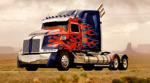 "Transformer 4 : Peterbilt 579 Western Star ""Optimus Prime"""