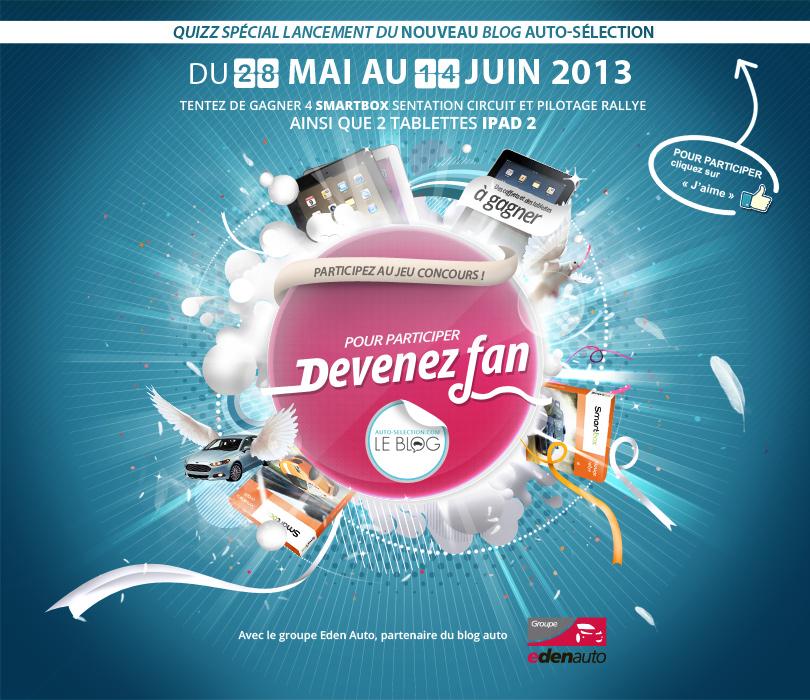 2 Ipad et 4 smartbox à gagner du 28 mai au 14 juin 2013