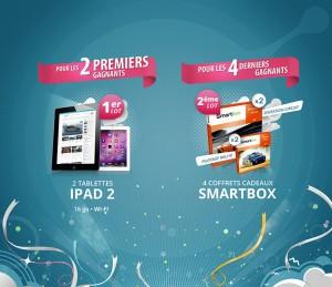 jeu-concours-presentation-des-lots Ipad II smartbox