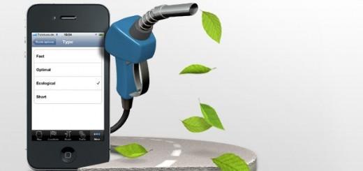 Blog auto -  iPhone navigation et écologie