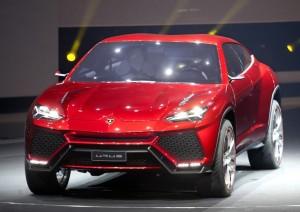 Lamborghini Urus Concept 2012 salon de Pékin