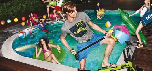 Mini lifestyle : une petite fête dans la piscine ?