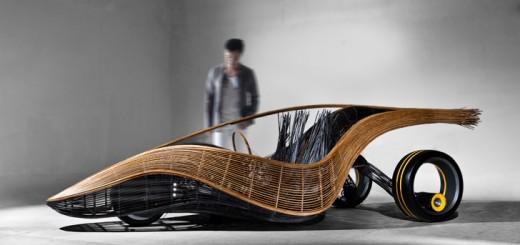 phoenix concept voiture biodégradable