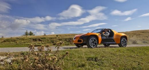 La Venturi America, une voiture de sport 100% électrique et Made in France