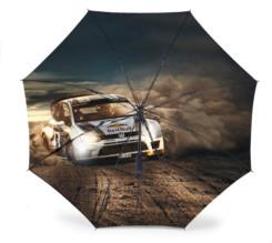 Vue intérieure du paraplui Volkswagen Motorsport