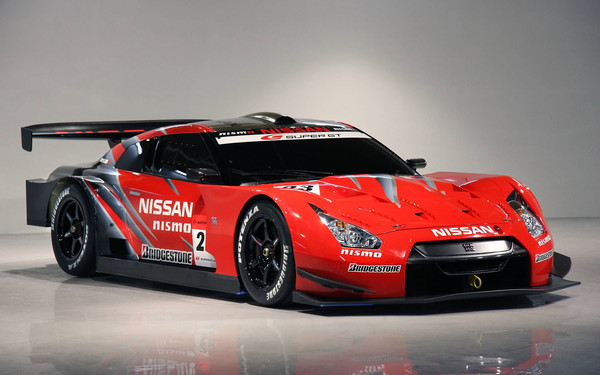 Nismo Nissan GT-R R35 GT500 Race Car Super GT Series