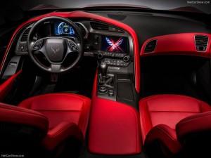 Intérieur de la Chevrolet Corvette C7 Stingray 2014