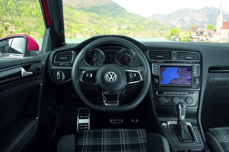 Volant de la nouvelle Volkswagen Golf 7 GTD