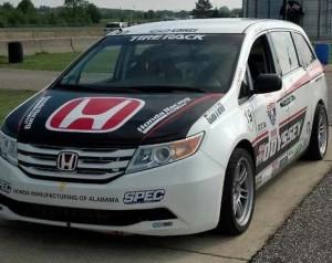 Pikes Peak 2013 : La Honda Odyssey de 530 ch de Simon Pagenaud
