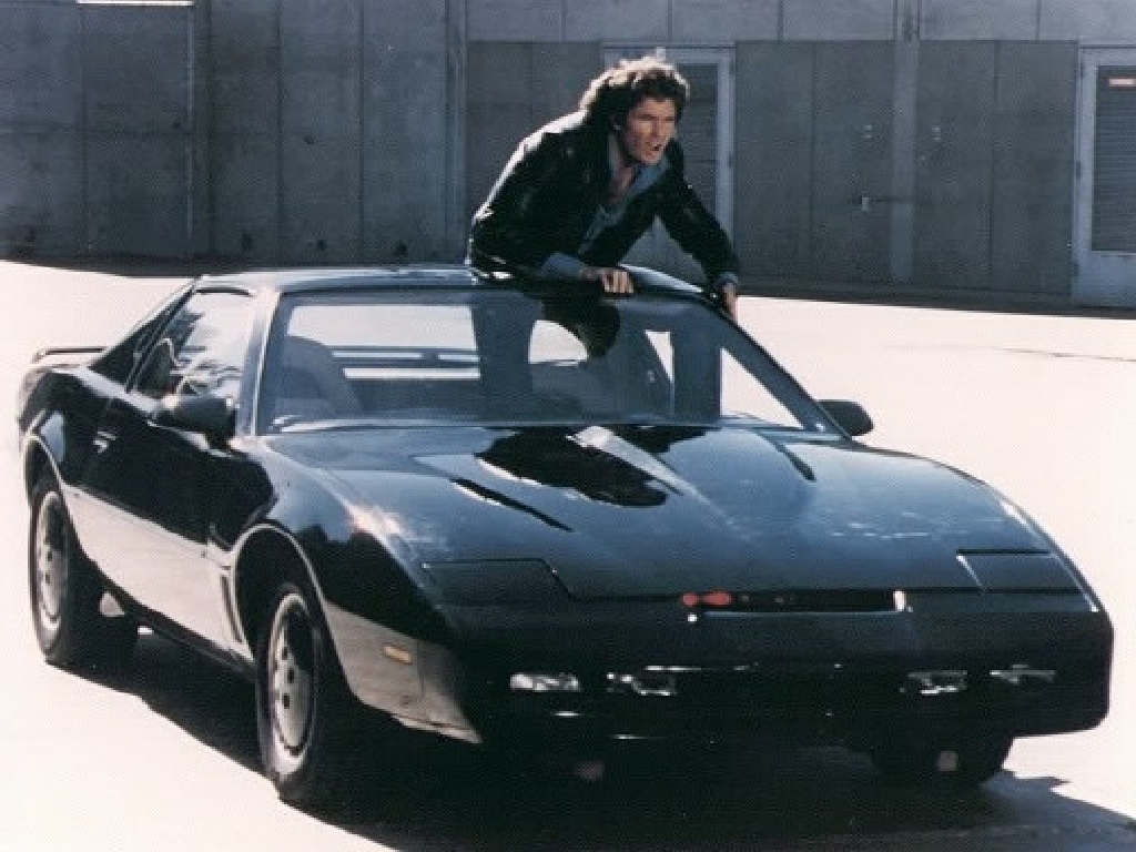 K2000 : Michael Knight et Kitt