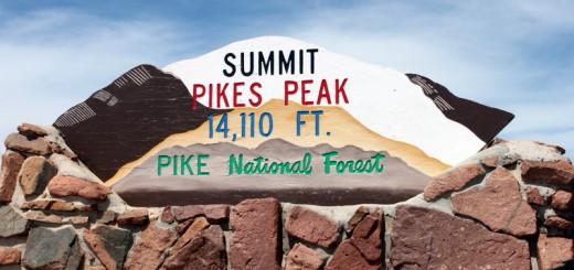 sommet pikes peak